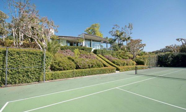 Point Dume Villa Tennis Pool